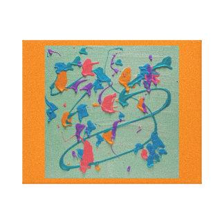 Impressão Em Tela Abstrato do Seascape
