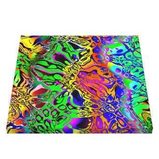 Impressão Em Tela Abstrato espectral das formas