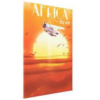 Impressão Em Tela África pelo ar