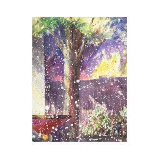 Impressão Em Tela Aguarela da vertente do jardim por Kathleen