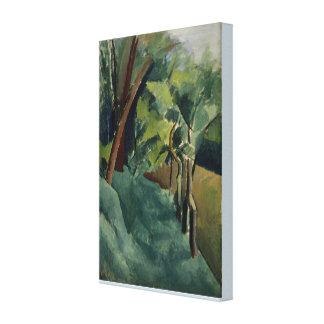 Impressão Em Tela Ainda paisagem da vida por Patrick Henry Bruce