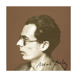 Impressão Em Tela Aldous Huxley
