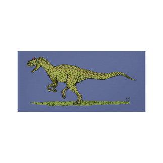 Impressão Em Tela Allosaurus