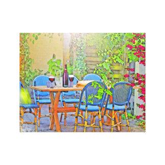 Impressão Em Tela Almoço em Provence (o sul de France)