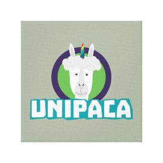 Impressão Em Tela Alpaca Z67aj do unicórnio de Unipaca