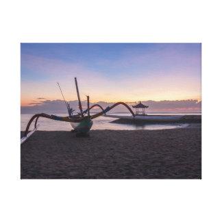 Impressão Em Tela Alvorecer, Sanur, Bali, Indonésia