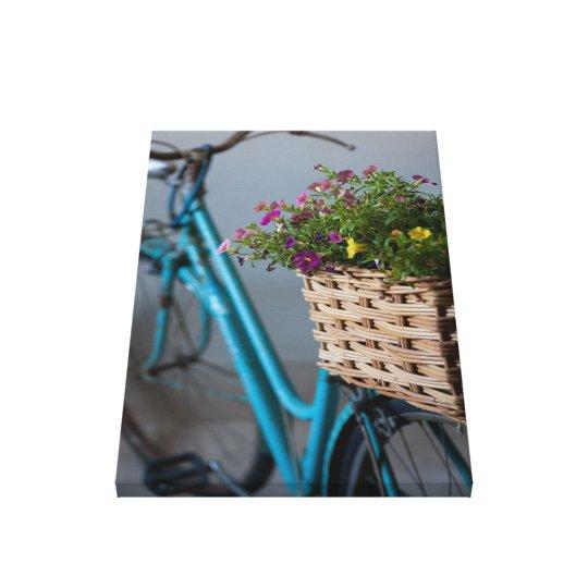 Impressão Em Tela An Old Decorated Bicycle