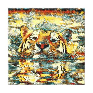 Impressão Em Tela AnimalArt_Tiger_20170601_by_JAMColors