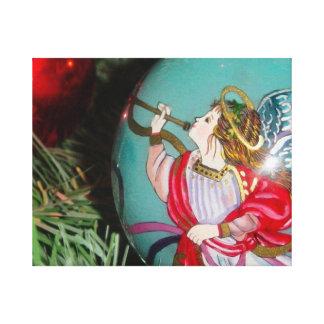 Impressão Em Tela Anjo do Natal - arte do Natal - decorações do anjo