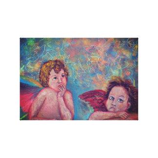 Impressão Em Tela Anjos caídos