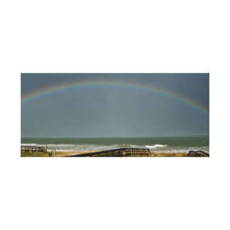 Impressão Em Tela Arco-íris sobre o Atlântico
