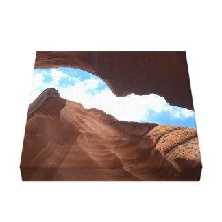 Impressão Em Tela ARIZONA - garganta superior B do antílope - rocha