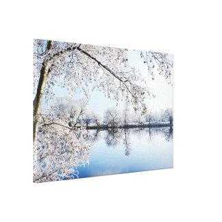 Impressão Em Tela Aro de áspero ao rio Havel (Alemanha)