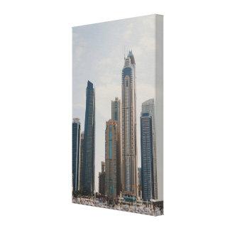 Impressão Em Tela Arquitetura do porto de Dubai