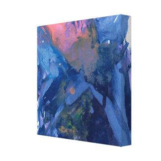 Impressão Em Tela Arte abstracta - arte da parede - roxo cor-de-rosa