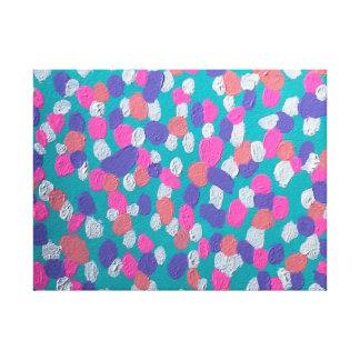 Impressão Em Tela Arte abstracta colorida: Retorne para o Sun