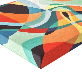 Impressão Em Tela Arte abstracta da convergência