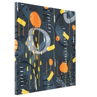 Impressão Em Tela Arte abstracta geométrica moderna da composição