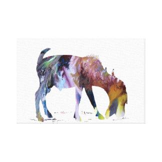Impressão Em Tela Arte da cabra