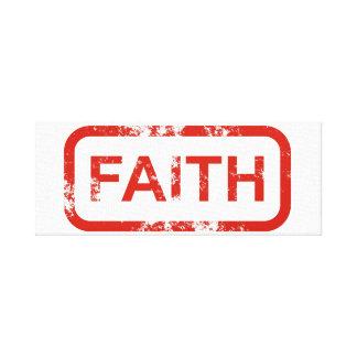 Impressão Em Tela Arte da parede da fé