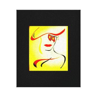 Impressão Em Tela Arte da parede do estilo do abstrato da forma alta