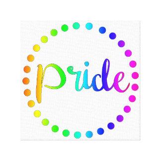 Impressão Em Tela Arte da parede do orgulho gay