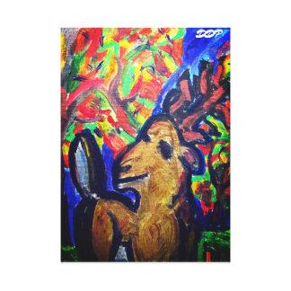 Impressão Em Tela arte da queda dos cervos