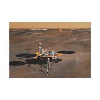 Impressão Em Tela Arte do conceito do Lander de Phoenix Marte
