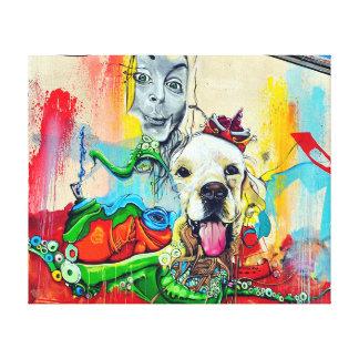 Impressão Em Tela Arte dos grafites