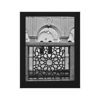 Impressão Em Tela Arte e mesquita do ferro