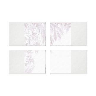 Impressão Em Tela Arte frondosa Pastel da parede do verão da