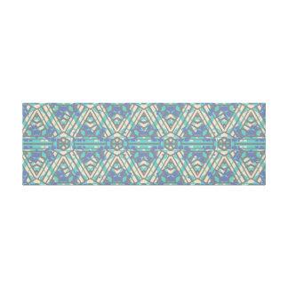 Impressão Em Tela Arte geométrica horizontal longa da parede de