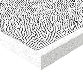 Impressão Em Tela Arte maia do labirinto de I por Blaise Gauba