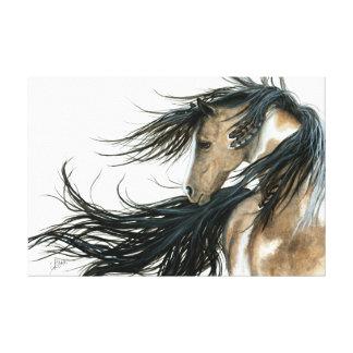 Impressão Em Tela Arte majestosa do cavalo do Pinto por Bihrle