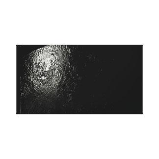 Impressão Em Tela Arte preta abstrata da parede