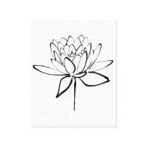 Arte E Decoração De Parede Desenhos Flor Lótus Zazzlecombr