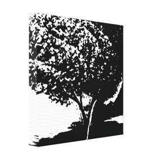Impressão Em Tela árvore