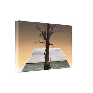Impressão Em Tela Árvore da esperança dimensional; Arte do Popout,