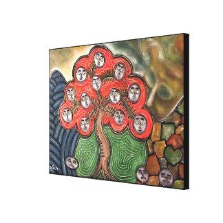 Impressão Em Tela Árvore de fruta pelo rafi talby