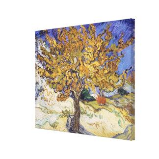 Impressão Em Tela Árvore de Mulberry de Vincent van Gogh |, 1889