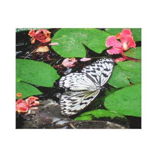 Impressão Em Tela As borboletas não podem nadar a arte fotográfica