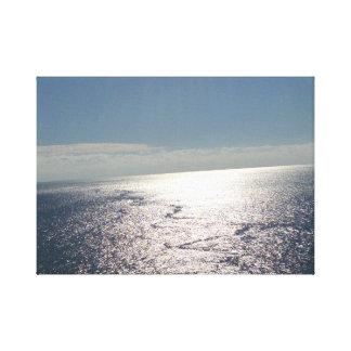 Impressão Em Tela Às extremidades do oceano