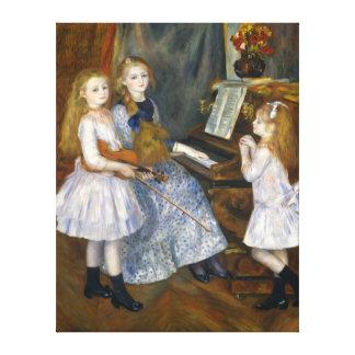 Impressão Em Tela As filhas de Renoir de Catulle emendam Huguette