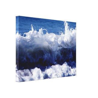 Impressão Em Tela As ondas acenam por ArtisicVegas Charles Meade
