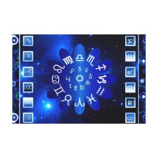 Impressão Em Tela Astrologia