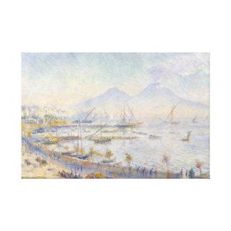Impressão Em Tela Auguste Renoir - a baía de Nápoles