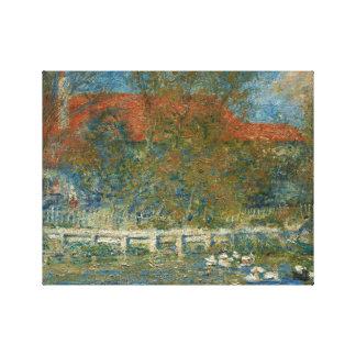 Impressão Em Tela Auguste Renoir - a lagoa do pato