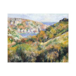 Impressão Em Tela Auguste Renoir - colinas em torno da baía