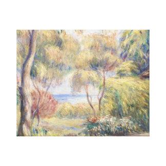 Impressão Em Tela Auguste Renoir - Paysage um Cagnes