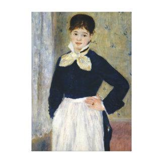 Impressão Em Tela Auguste Renoir um garçonete no restaurante de